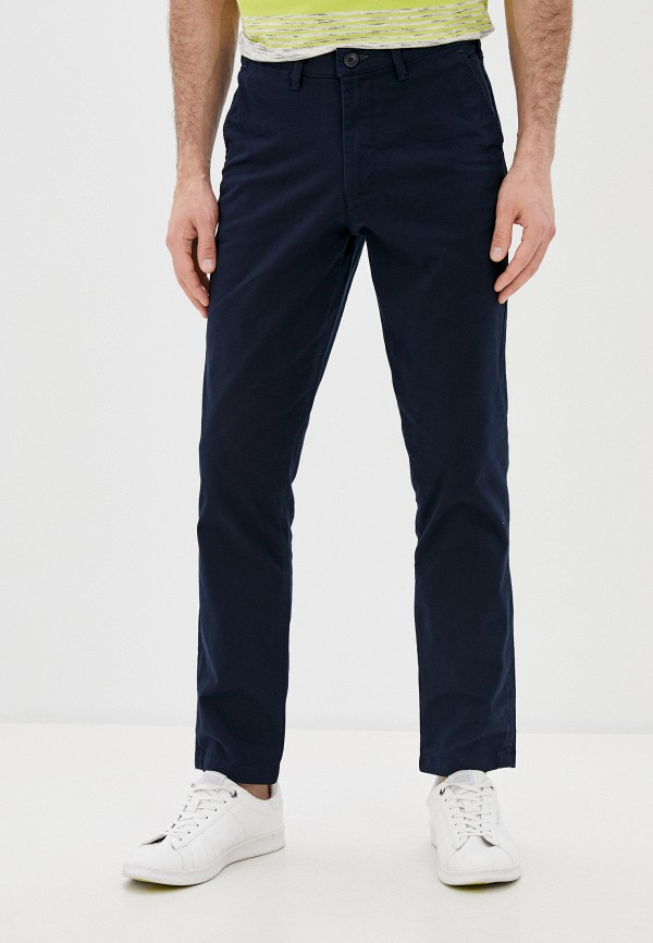 мужские брюки чинос selected homme, синие