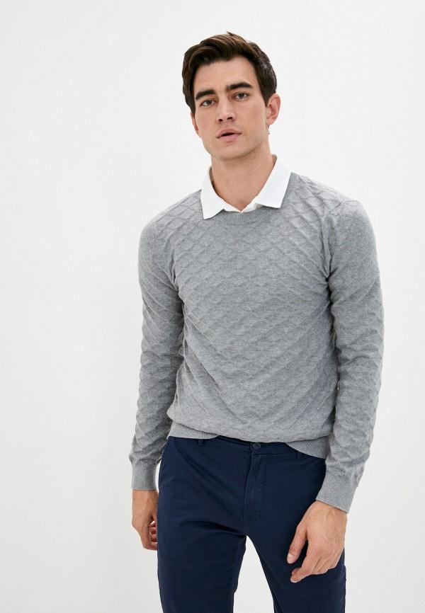 мужской джемпер selected homme, серый