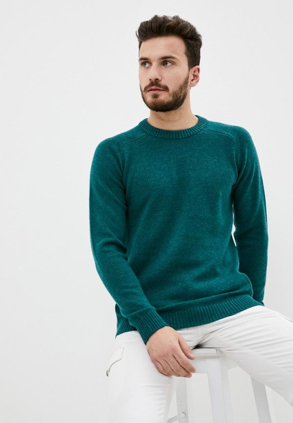мужской джемпер selected homme, зеленый
