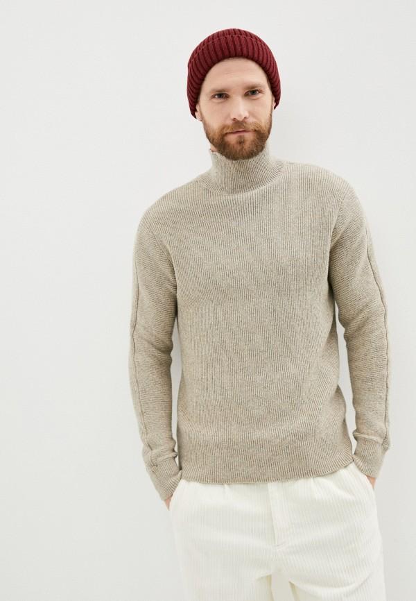 мужской свитер selected homme, бежевый