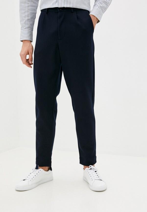 мужские классические брюки selected homme, синие