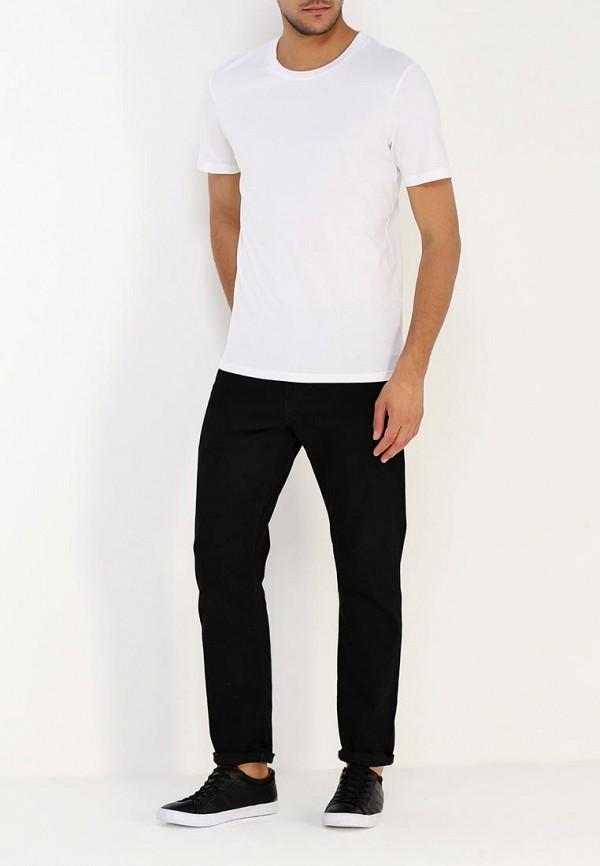 Фото 2 - мужскую футболку Selected Homme белого цвета