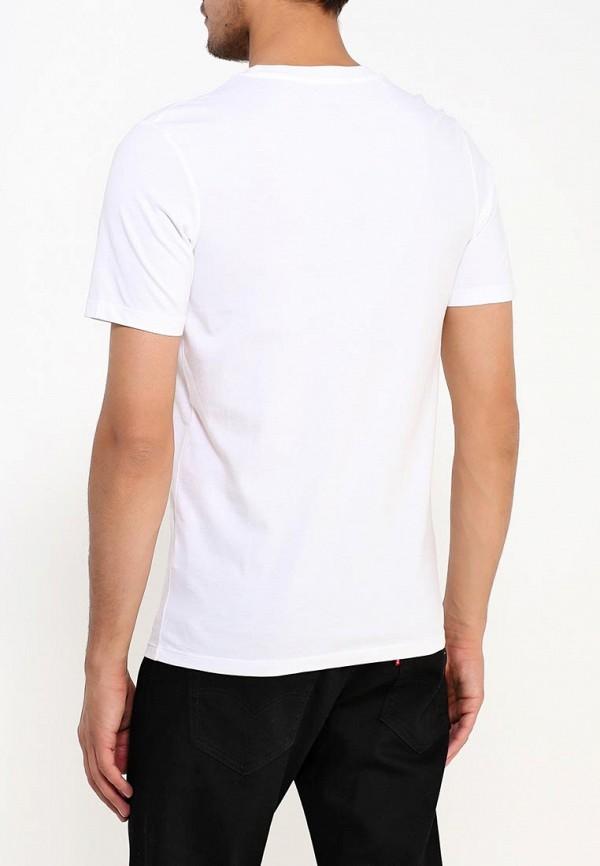 Фото 3 - мужскую футболку Selected Homme белого цвета