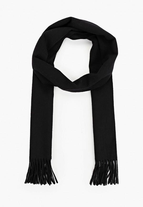 мужской шарф selected homme, черный