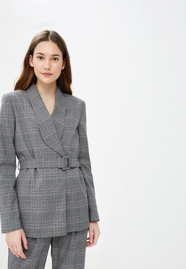 женский жакет selected femme, серый