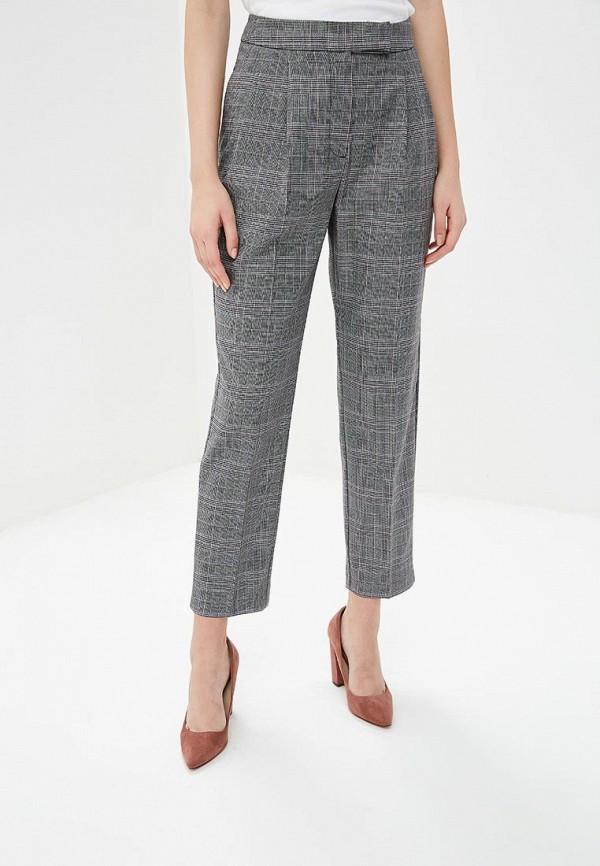 женские классические брюки selected femme, серые