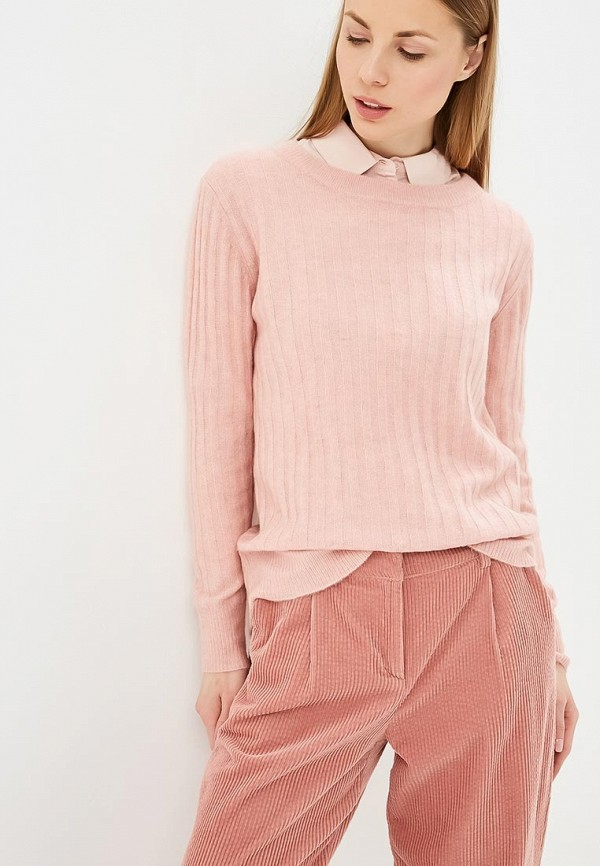 женский джемпер selected femme, розовый