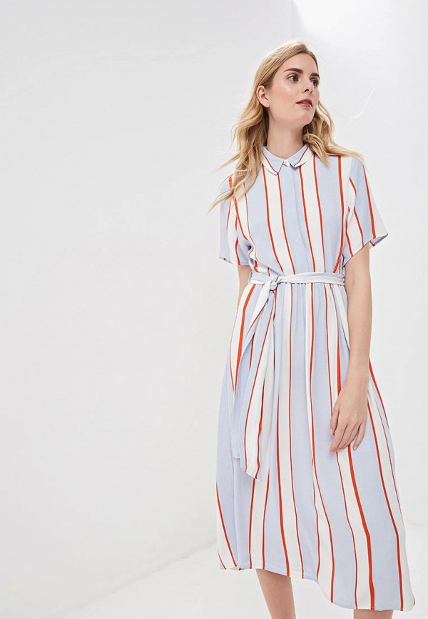 женское повседневные платье selected femme, разноцветное