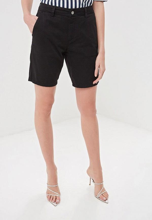 женские повседневные шорты selected femme, черные