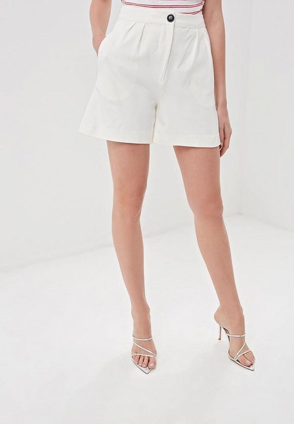 женские повседневные шорты selected femme, белые