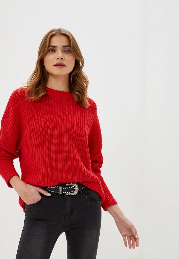 женский джемпер selected femme, красный