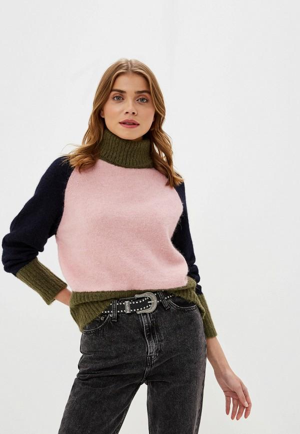 женский свитер selected femme, разноцветный