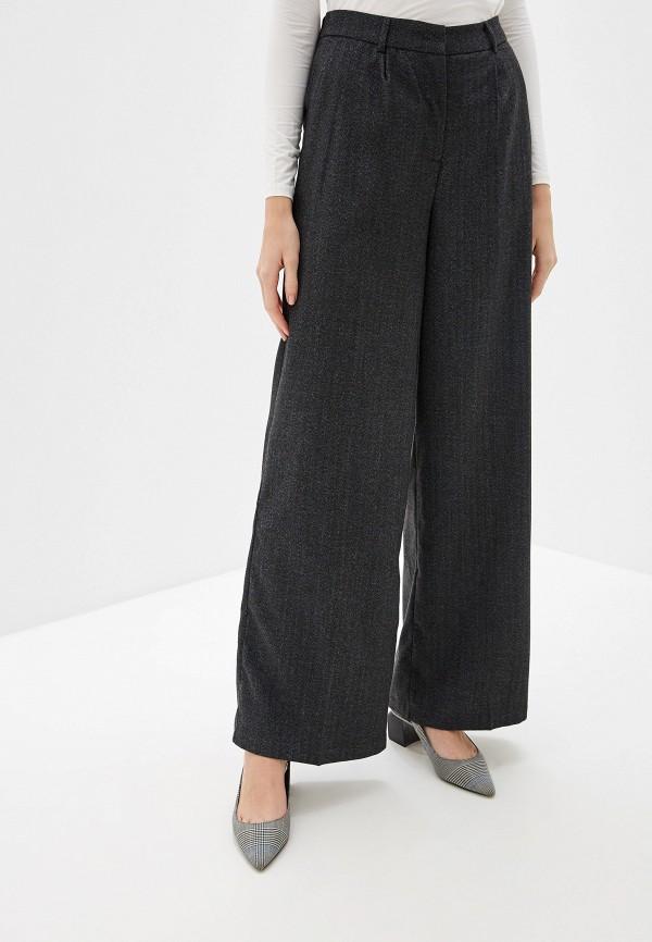 женские повседневные брюки selected femme, серые