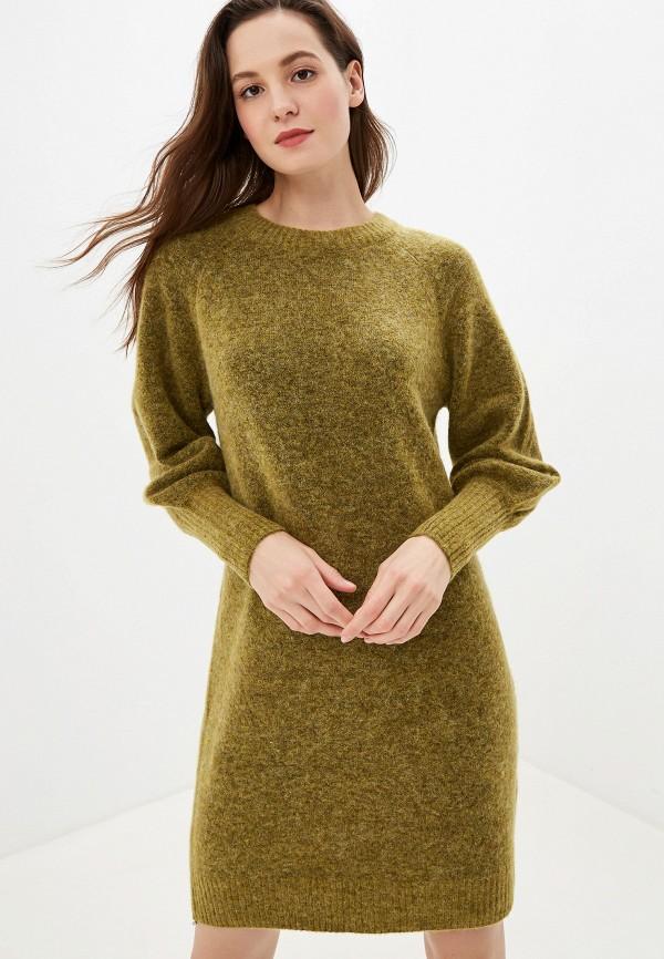 женское платье selected femme, хаки
