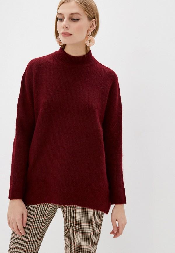 женский свитер selected femme, бордовый