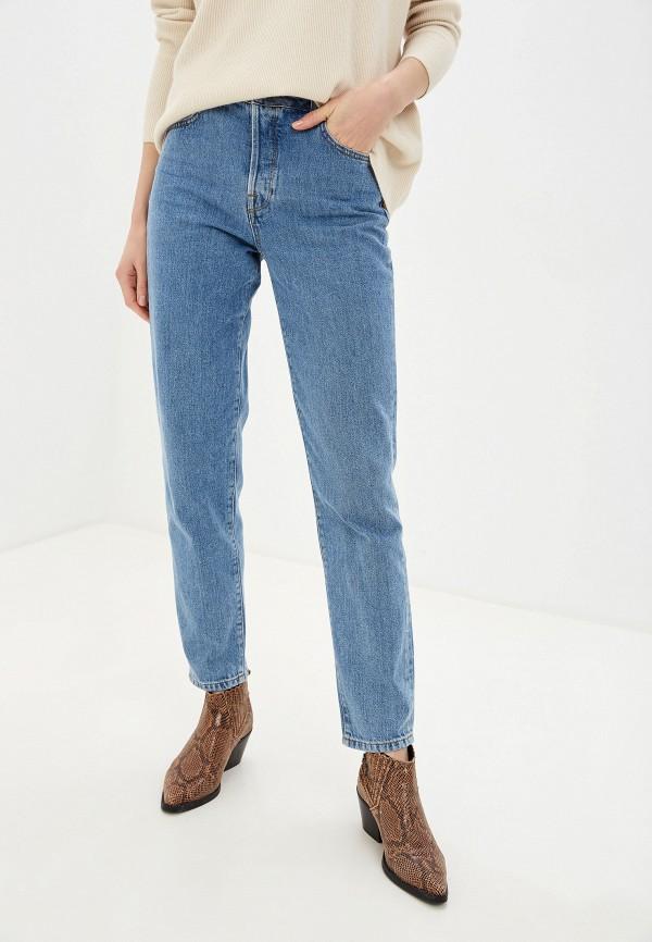 женские джинсы selected femme, голубые