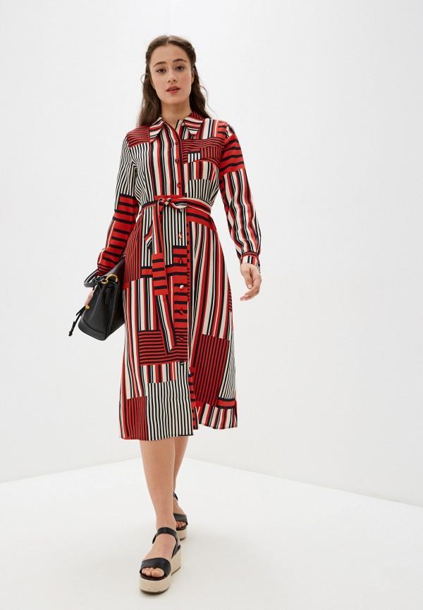 женское платье selected femme, красное