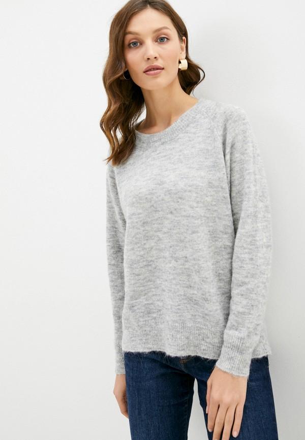 женский джемпер selected femme, серый