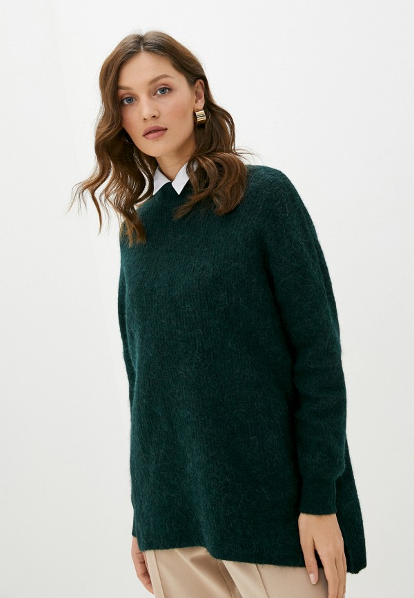 женский свитер selected femme, зеленый