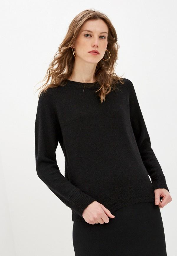 женский джемпер selected femme, черный
