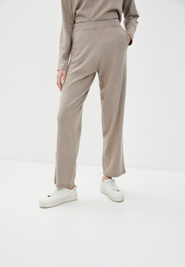женские повседневные брюки selected femme, бежевые