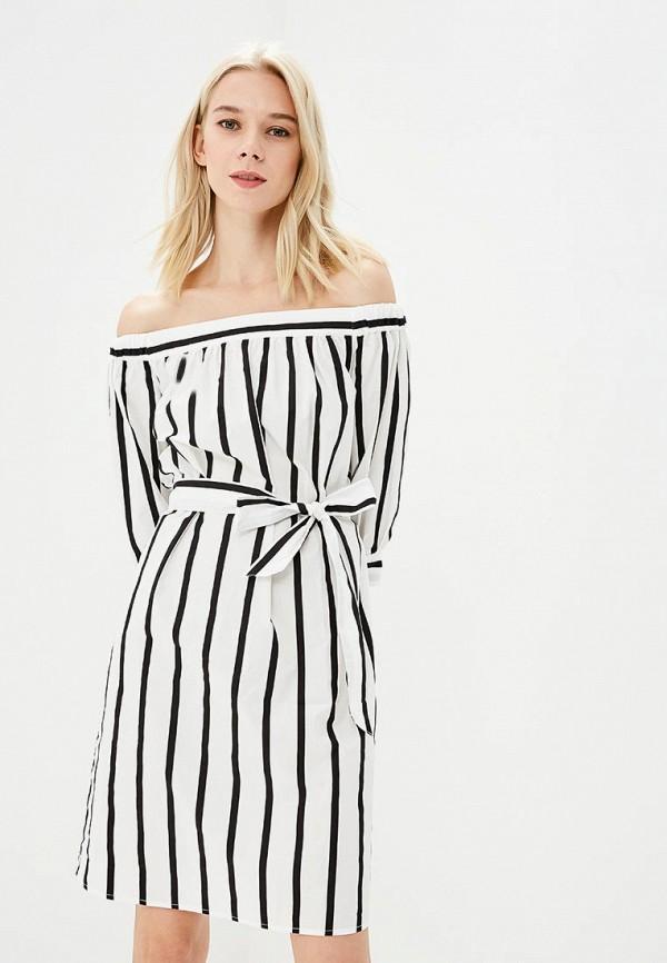 Купить Платье Selected Femme, se781ewziv52, белый, Весна-лето 2018