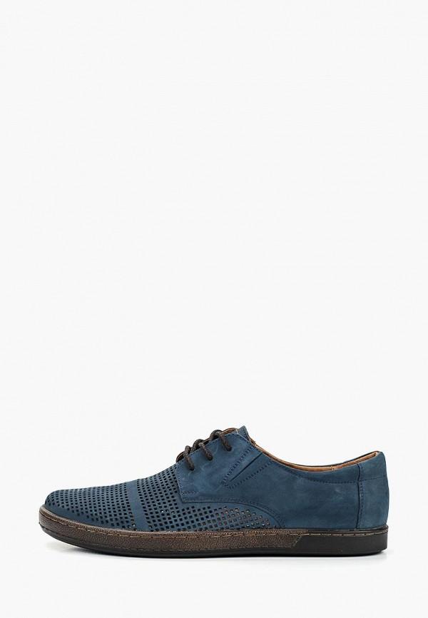 мужские туфли shoiberg, синие