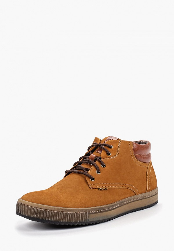 Фото 2 - Ботинки Shoiberg коричневого цвета