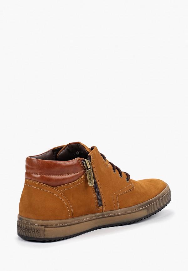 Фото 3 - Ботинки Shoiberg коричневого цвета