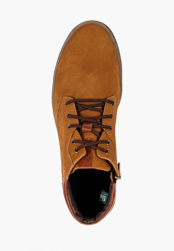 Фото 4 - Ботинки Shoiberg коричневого цвета