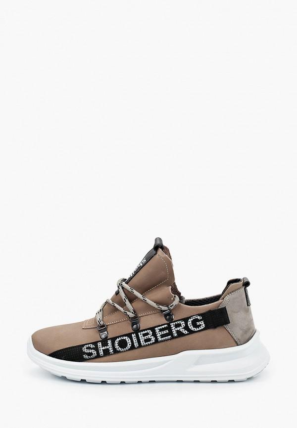 мужские низкие кроссовки shoiberg, бежевые