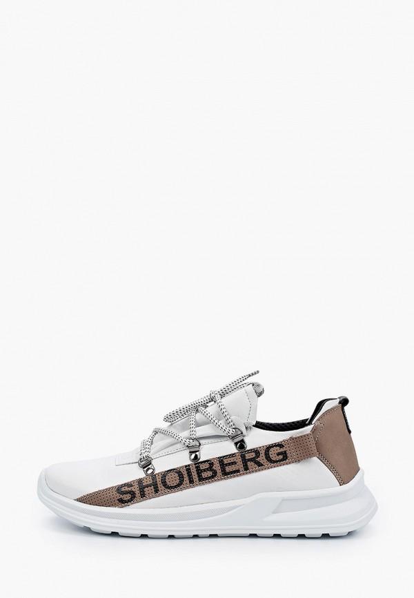 мужские кроссовки shoiberg, белые