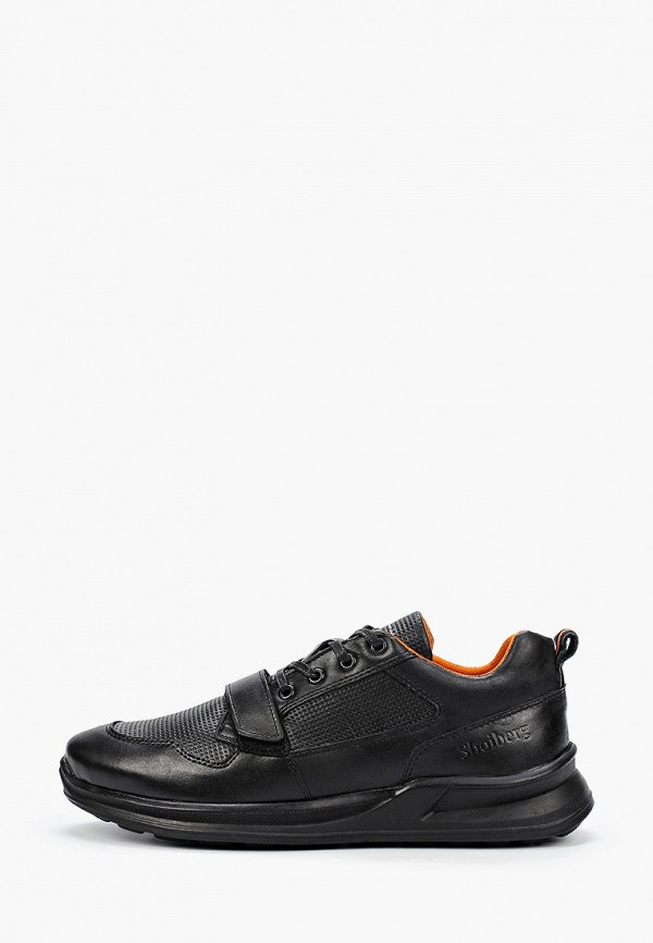 мужские низкие кроссовки shoiberg, черные
