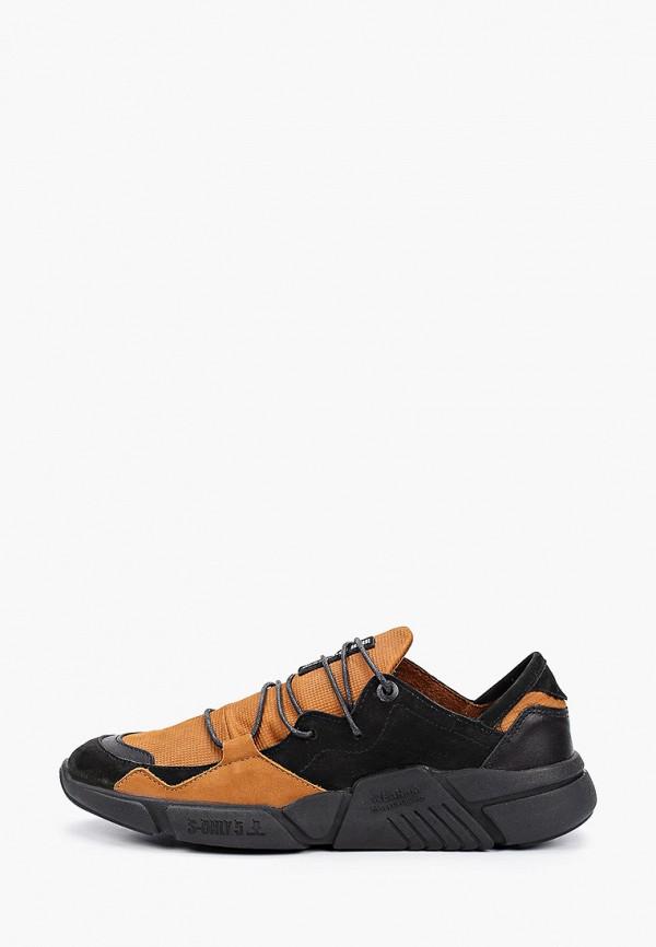 мужские кроссовки shoiberg, коричневые