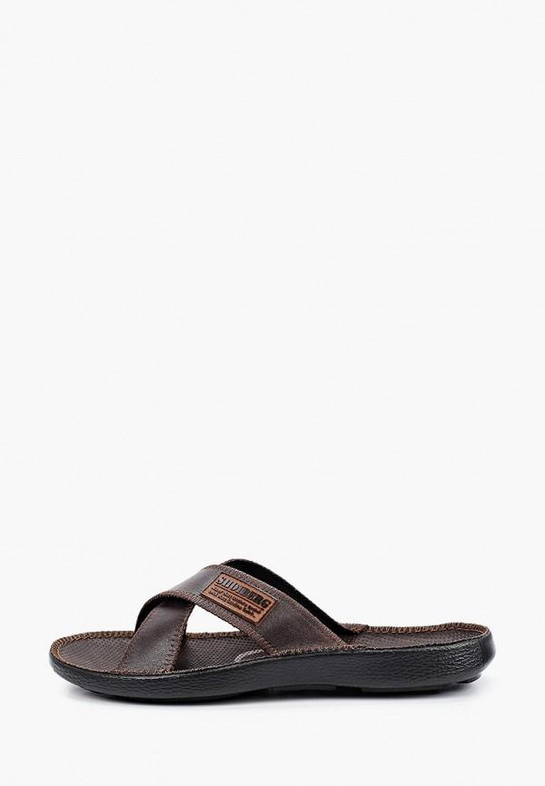 мужские сандалии shoiberg, коричневые