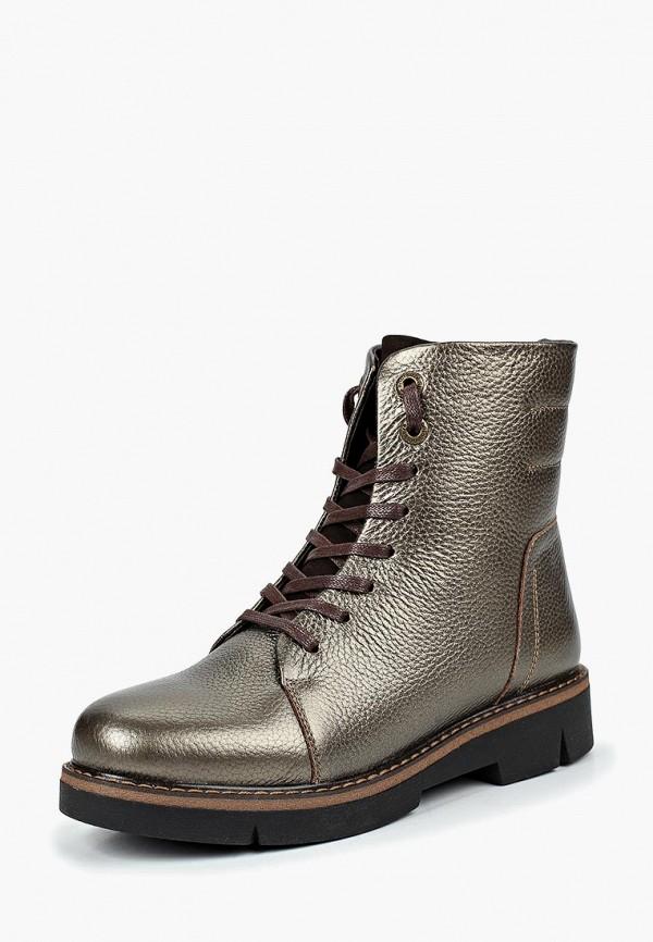 Купить Ботинки Shoiberg, SH003AWBQIL0, золотой, Осень-зима 2018/2019