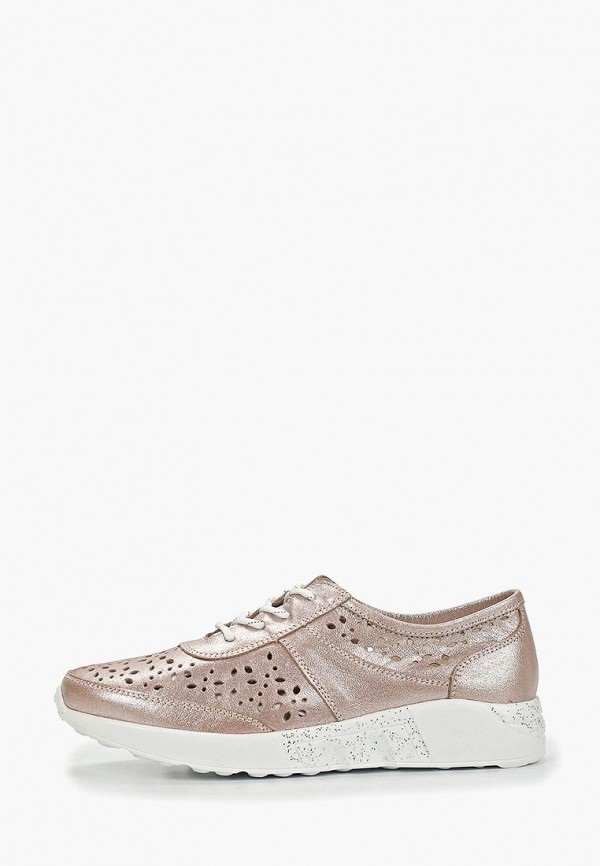 женские кроссовки shoiberg, розовые