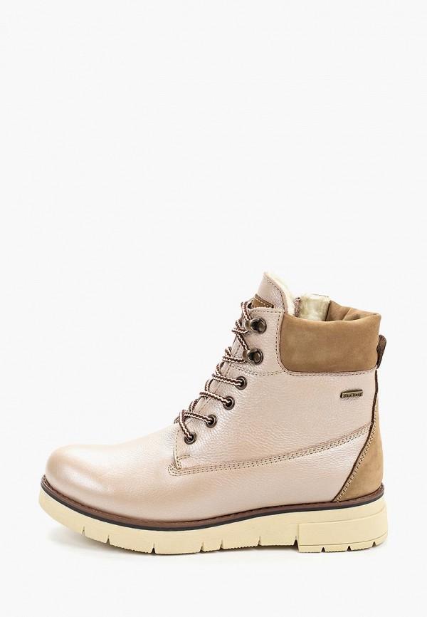 женские ботинки shoiberg, розовые