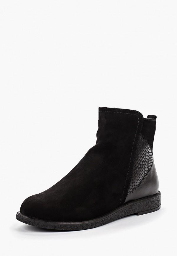 Фото 2 - Ботинки Shoiberg черного цвета
