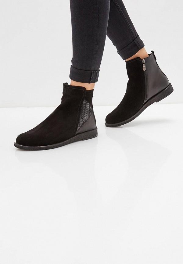 Фото 6 - Ботинки Shoiberg черного цвета