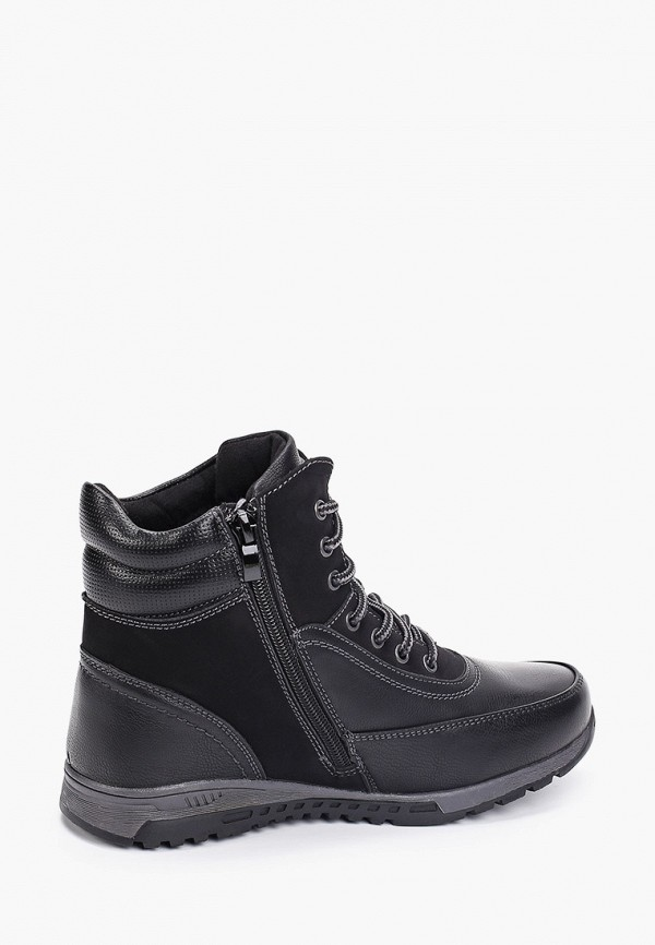 Фото 3 - Ботинки Shuzzi черного цвета