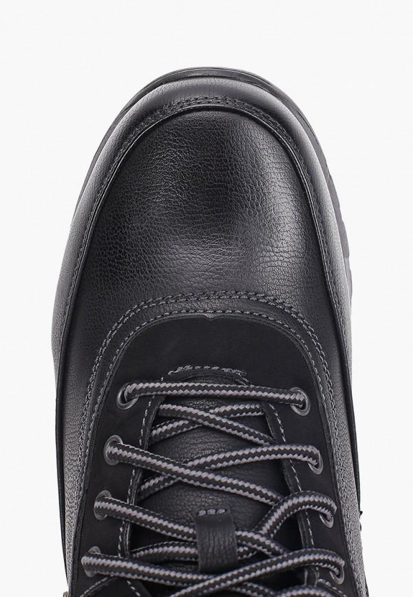 Фото 4 - Ботинки Shuzzi черного цвета