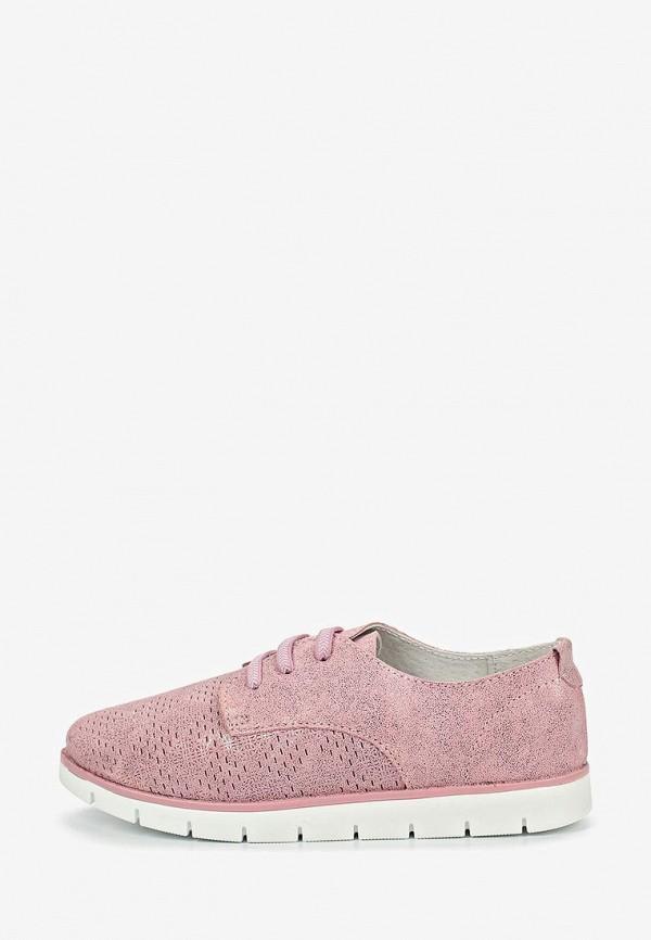 ботинки shuzzi для девочки, розовые