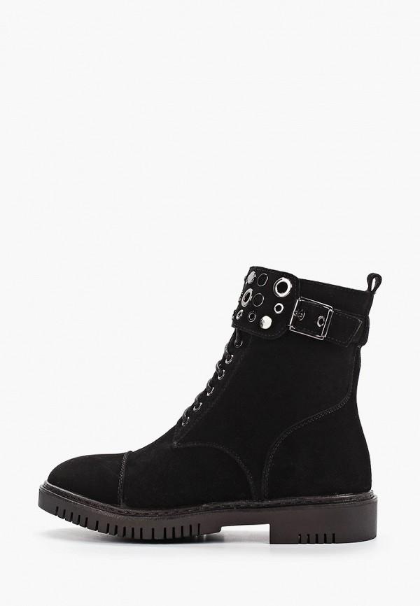 ботинки shuzzi для девочки, черные