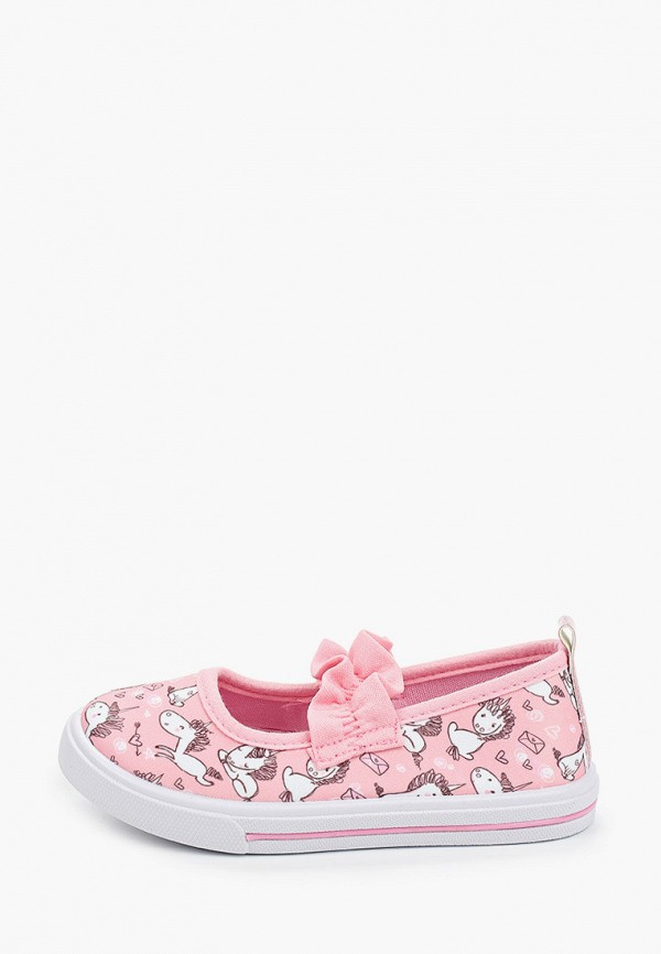 слипоны shuzzi для девочки, розовые