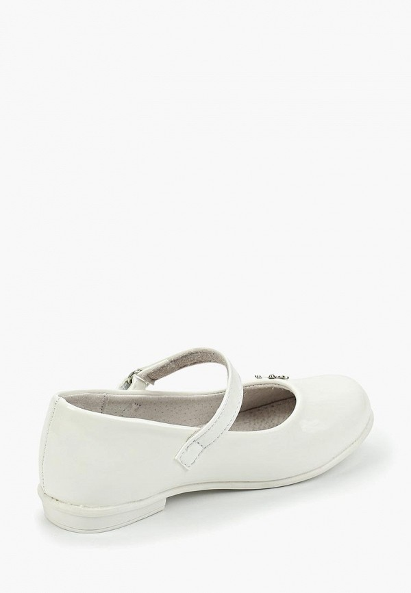 Фото 3 - Туфли Shuzzi белого цвета