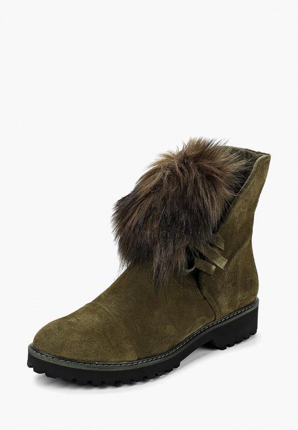 Купить Ботинки Shoobootique, sh017awcgqu7, хаки, Осень-зима 2018/2019