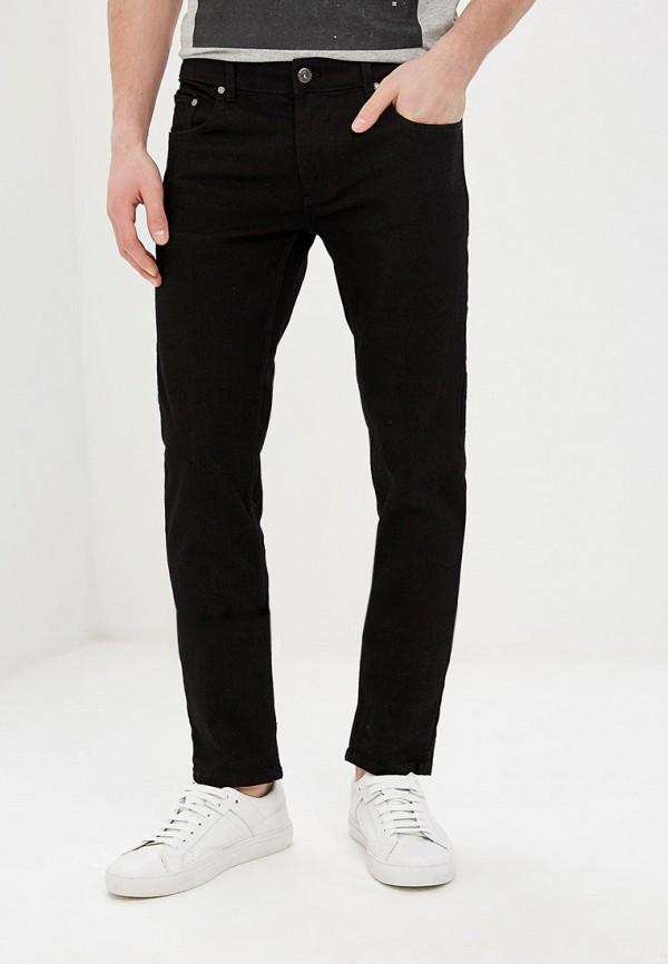 мужские зауженные джинсы shine original, черные