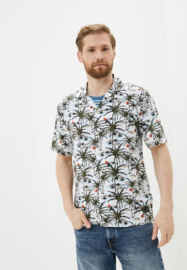 мужская рубашка с коротким рукавом shine original, разноцветная