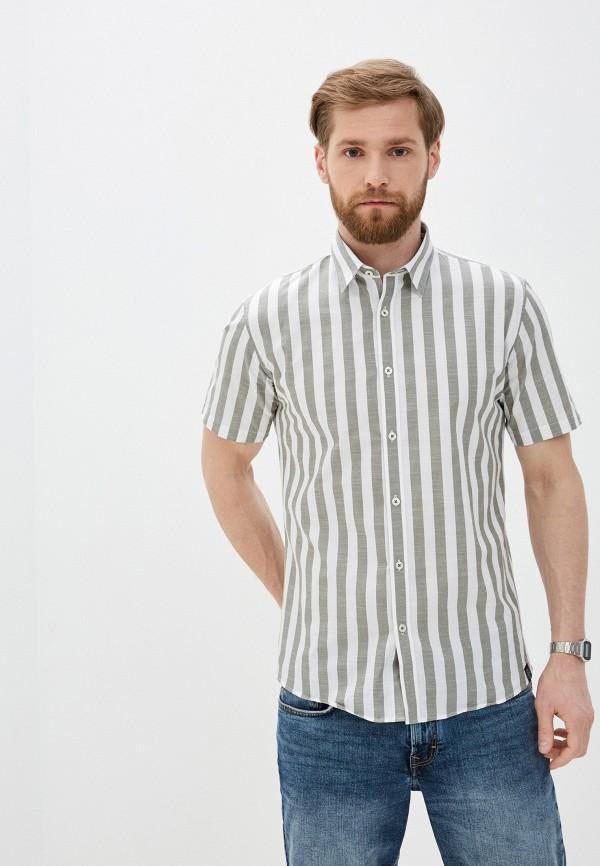 мужская рубашка с коротким рукавом shine original, хаки